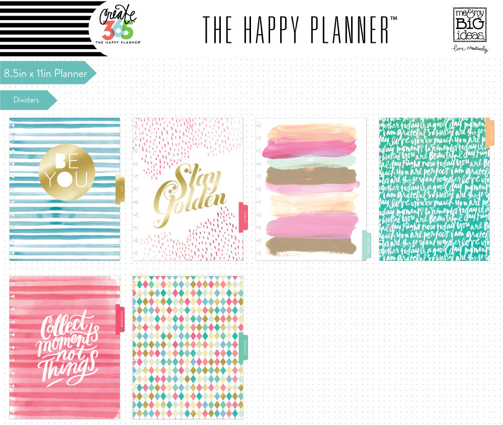 Happy Planner Stay Gold2
