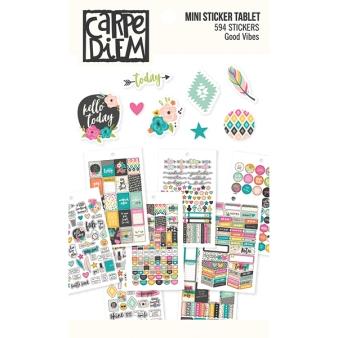 """Good Vibes"" Mini Stickers Tablet"