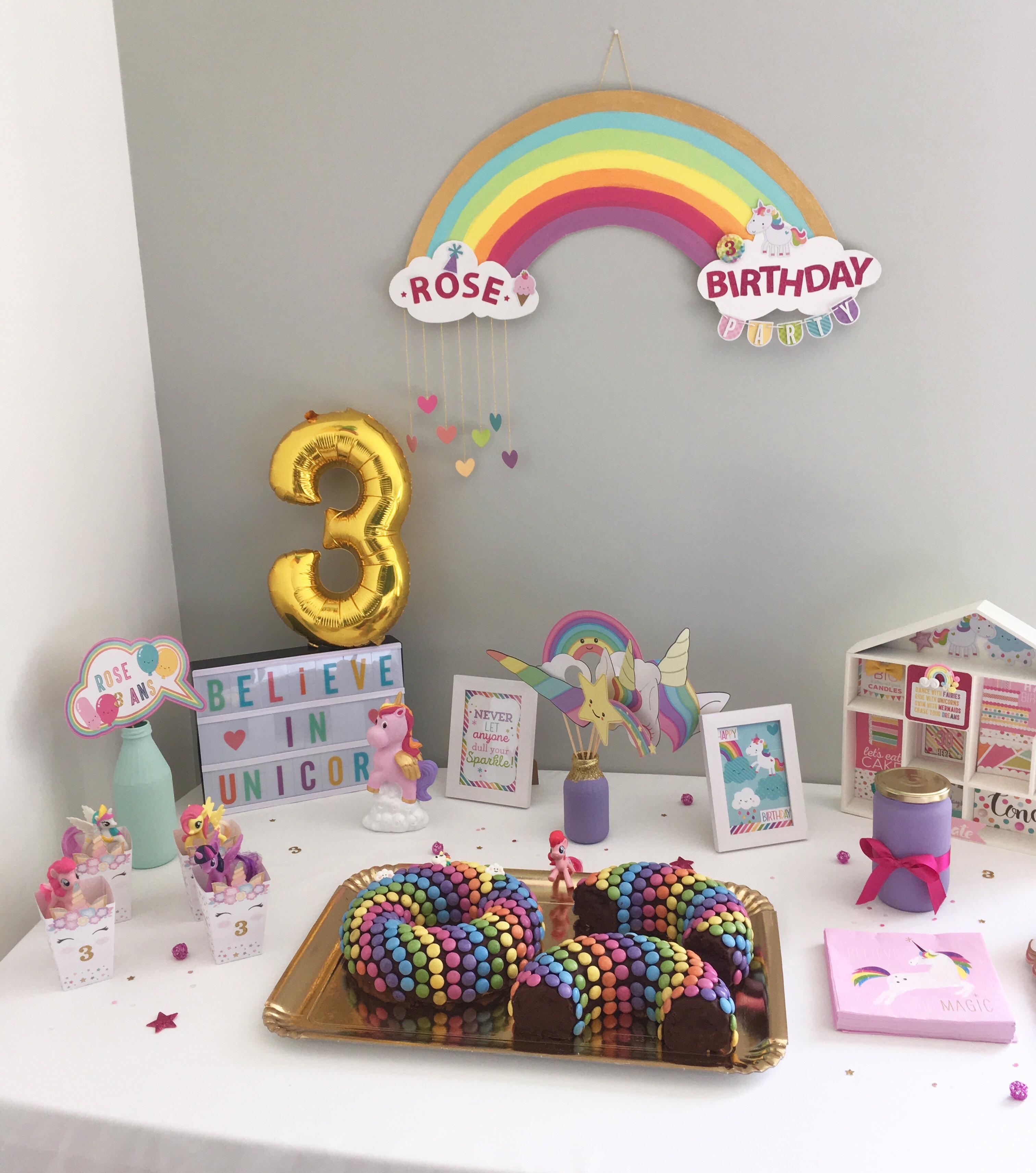 j\u0027ai organisé une fête d\u0027anniversaire sur le thème des licornes en  utilisant le plus possible de déco DIY. Pour cela, je me suis beaucoup  inspirée